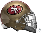 SuperShape™ 49ers Helmet