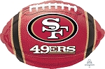 18in Junior Shape 49er Mylar Balloon