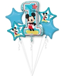 Mickey 1st Birthday Balloon Bouquet
