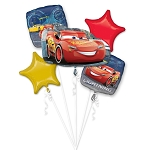 Cars Lightning McQueen Balloon Bouquet