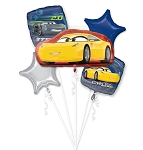 Cars Cruz Jackson Balloon Bouquet