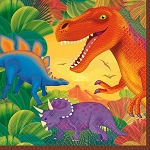 Prehistoric Party Lunch Napkins