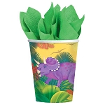Prehistoric Party 9oz Cups