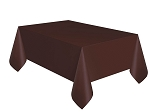 Rectangular Heavy Duty Table Cover - Brown