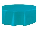 Round Heavy Duty Table Cover- Turquoise