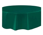 Round Heavy Duty Table Cover - Hunter Green