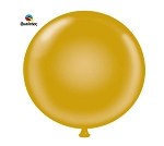 Round Heavy Duty Table Cover - Gold