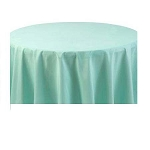 Round Heavy Duty Table Cover - Mint