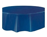 Round Heavy Duty Table Cover - Navy