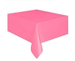Rectangular Heavy Duty Table Cover - Pink