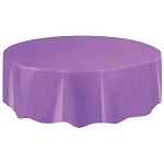 Round Heavy Duty Table Cover - Purple