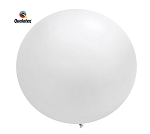 Round Heavy Duty Table Cover - White
