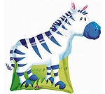 SuperShape Jungle Party Zebra