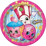 Shopkins 7in Dessert Plates