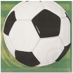 3D Soccer Lunch Napkins