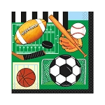 Classic Sports Beverage Napkins