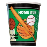 Classic Sports 9oz Cups