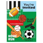 Classic Sports Invitations