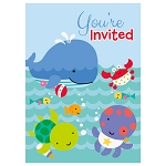 Under The Sea Pals Invitations