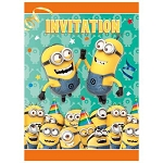 Despicable Me 2 Invitations