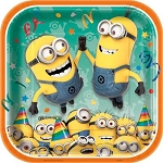 Despicable Me 2 9in Dinner Plates