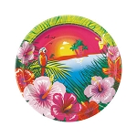 Luau Party 7in Plates