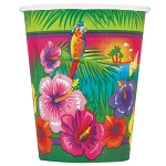 Luau Party 9oz Cups