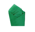 Kelly Green Satin Wrap - One Ream ( 480 pc )