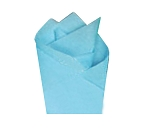 Sky Blue Satin Wrap - One Ream ( 480 pc )