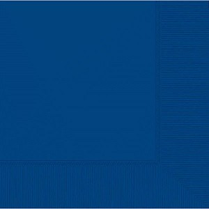 Bright Royal Blue 2-Ply Lunch Napkins