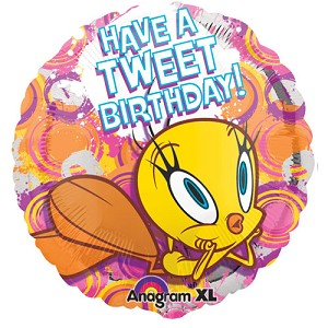 18in Tweety Happy Birthday