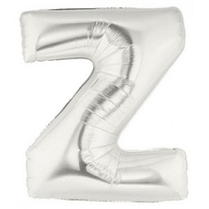Air Filled 7 Inch Silver Letter Z Balloons are great for all party occasions. Use as a Centerpiece