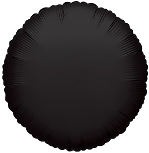 "18"" Solid Black (Round)"