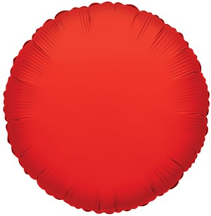 "18"" Solid Red (Round)"