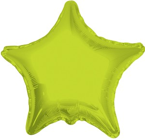 "18"" Solid Star Lime Green"