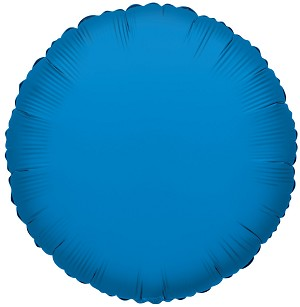 "18"" Solid Round Radiant Blue"