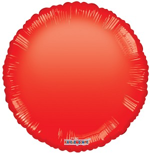 Red Round Gelli Bean
