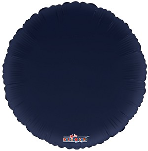 "18"" Solid Navy Blue Round"