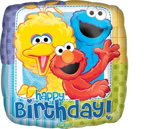 18in Sesame Street Birthday