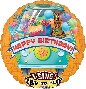 Sing-A-Tune XL Scooby-Doo Birthday