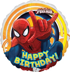 18in Spider-Man Ultimate Birthday