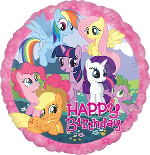 18in My Little Pony Birthday