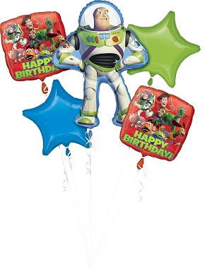 Toy Story Bday Gang Balloon Bouquet