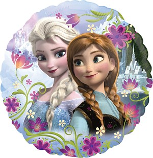 18in Frozen Anna & Elsa